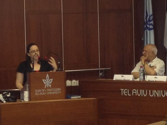 הרצאה באוניברסיטת תל אביב - חשיבותה של הפרסית היהודית לחקר הבלשנות האיראנית.