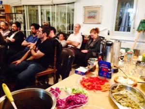 מגילת אסתר - מאחורי המסכה: הרצאה לתומכים בירושלים. גוהר מסעדה פרסית